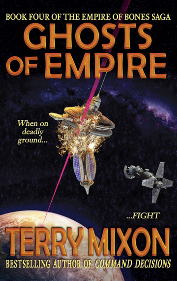 Ghosts of Empire (The Empire of Bones Saga, Book 4)