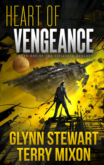 Heart of Vengeance (The Vigilante Series, Book 1)