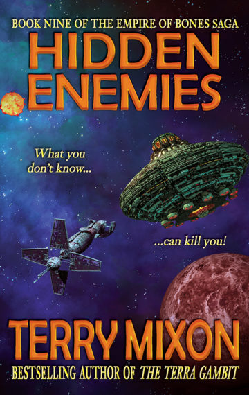 Hidden Enemies (The Empire of Bones Saga, Book 9)