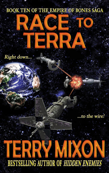 Race to Terra (The Empire of Bones Saga, Book 10)