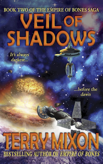 Veil of Shadows (The Empire of Bones Saga, Book 2)