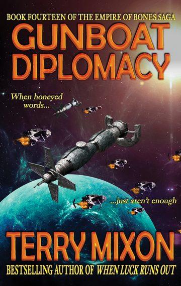 Gunboat Diplomacy (The Empire of Bones Saga, Book 14)